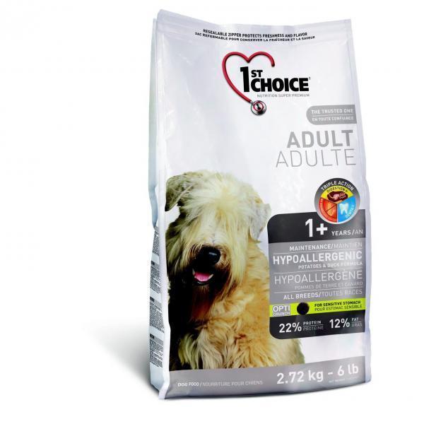 Гипоаллергенная диета для собак