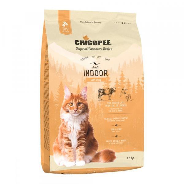 Chicopee CNL Cat Adult Indoor Сухой корм для домашних кошек Говядина
