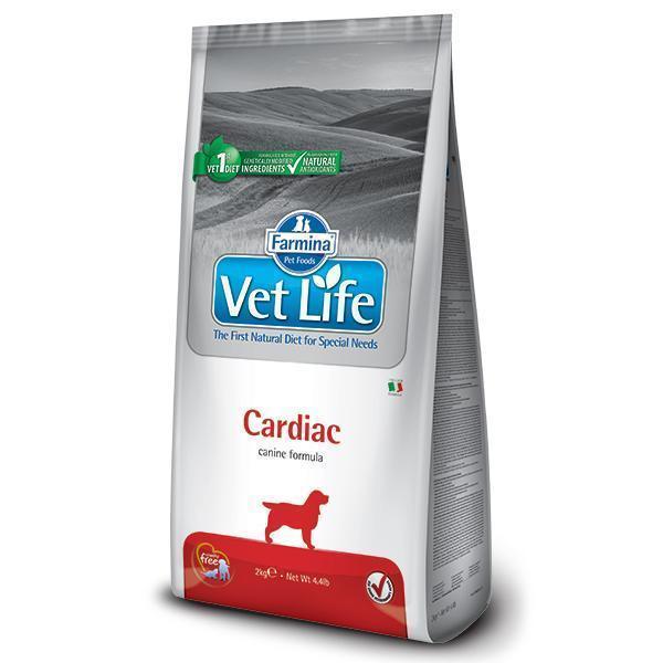 Farmina Vet Life Cardiac диетический сухой корм для поддержания работы сердца у собак 10 кг