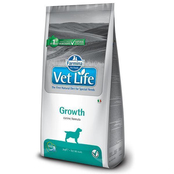 Farmina Vet Life Growth диетический сухой корм для щенков с нарушением роста и развития 12 кг