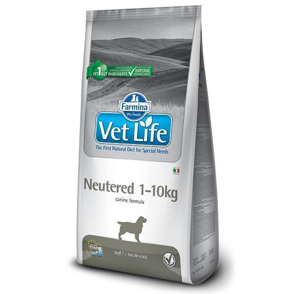 Farmina Vet Life Neutered 1-10kg диетический сухой корм для кастрированных или стерилизованных собак (весом до 10 кг) 10 кг