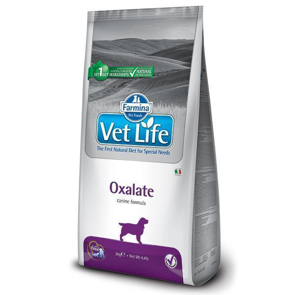 Farmina Vet Life Oxalate диетический сухой корм для лечения уролитиаза уратного, оксалатного и цистинового типа у собак 12 кг
