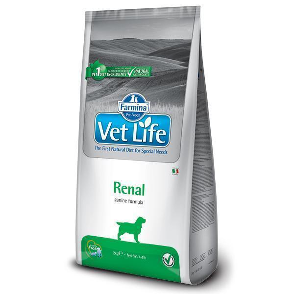 Farmina Vet Life Renal диетический сухой корм для собак с заболеванием почек 12 кг