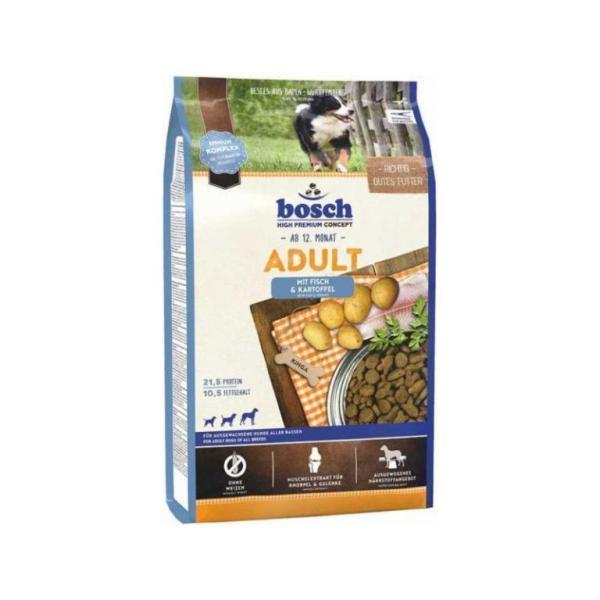Bosch Adult Fresh Salmon & Potato - сухой корм для взрослых собак всех пород 15 кг