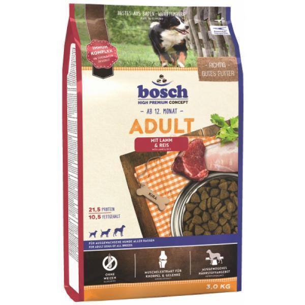 Bosch Adult Lamb & Rice сухой корм для взрослых собак 15 кг