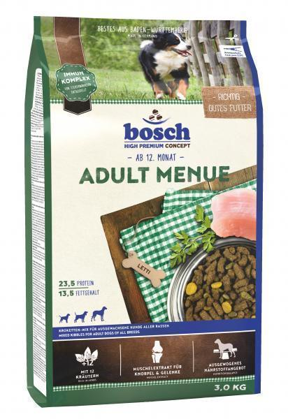 Bosch Adult Menue сухой корм для взрослых собак со средним или повышенным уровнем активности 15 кг