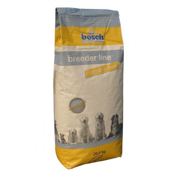 Bosch Breeder Lamb & Rice сухой корм для взрослых собак 20 кг