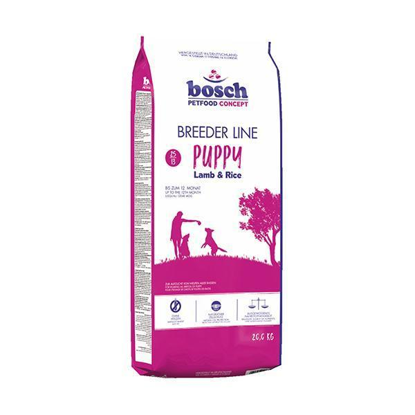 Bosch BreederLine Puppy сухой корм для щенков с ягнёнком и рисом 20 кг