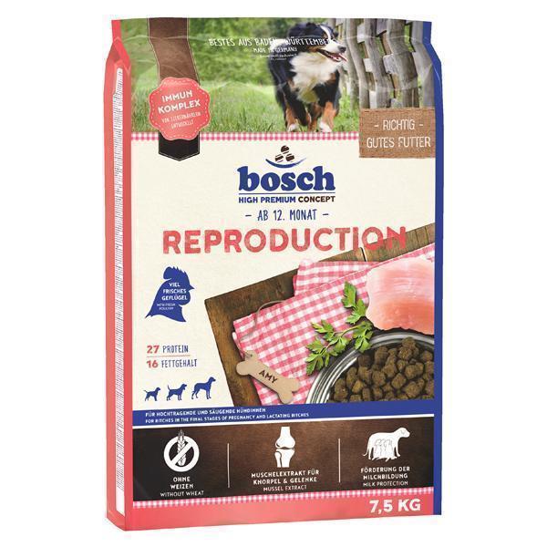 Bosch Reproduction сухой корм для беременных (с 5 недели) и кормящих собак 7,5 кг