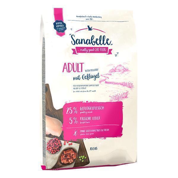Bosch Sanabelle Adult with Poultry сухой корм для взрослых кошек домашнего содержания с птицей 10 кг