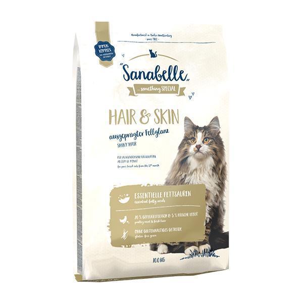 Bosch Sanabelle Hair & Skin сухой корм для выставочных и привередливых кошек 10 кг