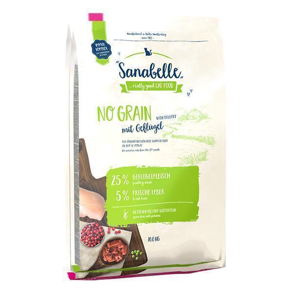 Bosch Sanabelle No Grain сухой корм для взрослых (старше года) кошек с чувствительным пищеварением 10 кг