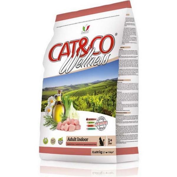 Cat&Co Wellness Adult Agnello & Patate сухой корм для кошек с ягненком и картофелем
