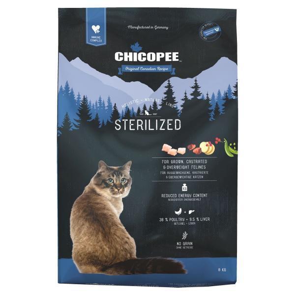 Chicopee HNL Cat Sterilized Сухой корм для стерилизованных кошек