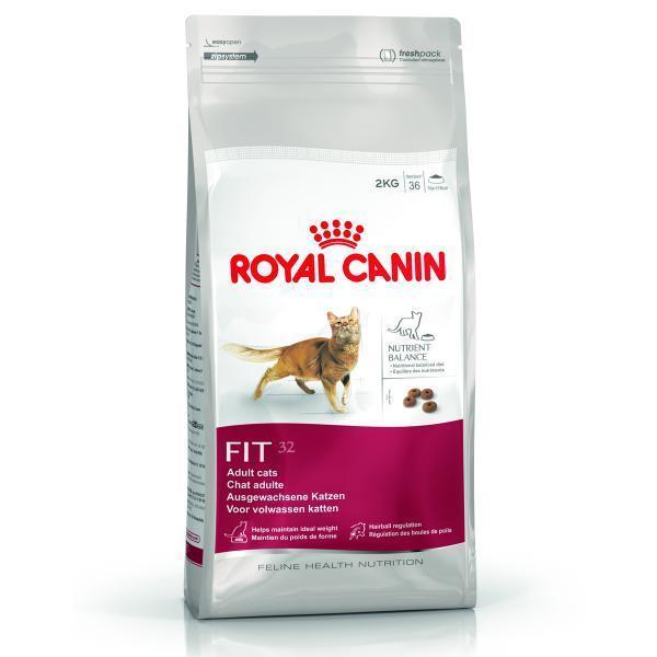 Royal Canin Fit 32 сухой корм для кошек бывающих на улице 15 кг