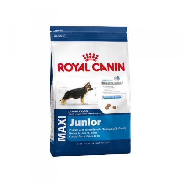 Royal Canin Maxi Junior сухой корм для щенков крупных пород с 2 до 15 месяцев 15 кг