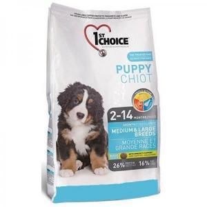 1st Choice Puppy Medium & Large Breed сухой корм для щенков крупных и средних пород