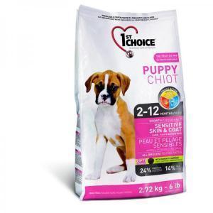 1st Choice Puppy Sensitive Skin&Coat гипоаллергенный сухой корм для щенков с ягненком