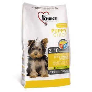 1st Choice Puppy Toy & Small Breed сухой корм для щенков маленьких пород