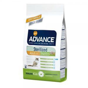 Advance Cat Sterilized сухой корм для кастрированных и стерилизованных кошек 15 кг