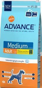 Advance Medium Adult сухой корм для собак средних пород 20 кг