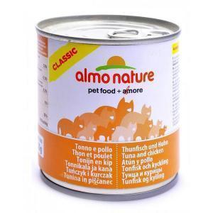 Almo Nature Classic Adult Cat Chicken & Tuna консервы для кошек с курицей и тунцом