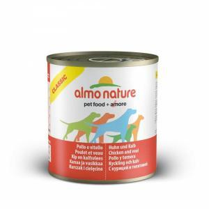 Almo Nature Classic Chicken and Veal консервы для собак с курицей и телятиной