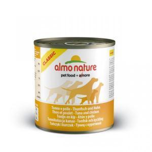Almo Nature Classic Tuna&Chicken консервы для собак с тунцом и курицей