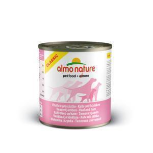 Almo Nature Classic Veal&Ham консервы для собак с телятиной и ветчиной