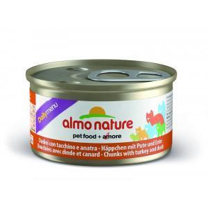 Almo Nature Daili Menu Mousse Chicken консервы для кошек с курицей в виде мусса 85 г х 24 шт