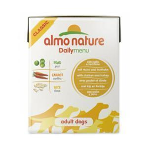 Almo Nature Daily Menu Chicken&Turkey Tetrapack консервы для собак с курицей и индейкой 375 г