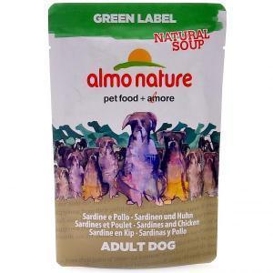 "Almo Nature Green Label Natural Soup Dog Chicken Fillet холистик-суп для собак ""Куриное филе"" 140 г"