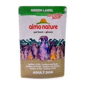 "Almo Nature Green Label Natural Soup Dog Chicken&Sardines холистик-суп для собак ""Курица и сардины"" 140 г"