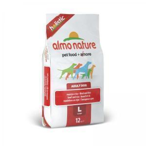 Almo Nature Large Adult Beef and Rice Holistic сухой корм для собак крупных пород с говядиной 12 кг