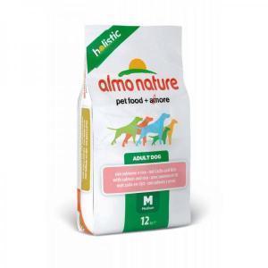 Almo Nature Large & Salmon сухой корм для собак крупных пород с лососем 12 кг