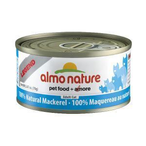 Almo Nature Legend Adult Cat Mackerel консервы для кошек со скумбрией 70 г х 24 шт