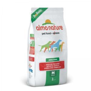 Almo Nature Medium Adult Beef and Rice Holistic сухой корм для собак средних пород с говядиной