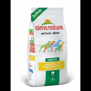 Almo Nature Medium & Chicken сухой корм для собак средних пород с курицей