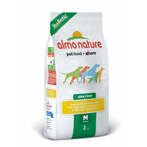 Almo Nature Medium & Lamb сухой корм для собак средних пород с ягненком