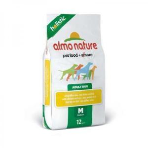Almo Nature Medium & Salmon сухой корм для собак средних пород с лососем