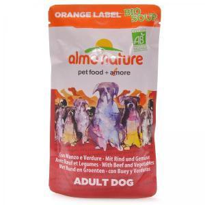 Almo Nature Orange label Bio Soup Beef&Vegetables органик-суп для собак с говядиной и овощами 140 г