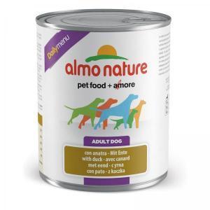 Almo Nature Single Protein Duck консервы для собак с чувствительным пищеварением с уткой 400 г