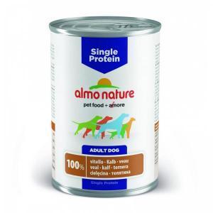 Almo Nature Single Protein Veal консервы для собак с чувствительным пищеварением с телятиной 400 г