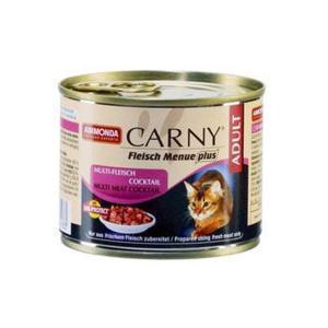 Animonda Carny Adult консервы для кошек коктейль из разных сортов мяса 200 г (6 штук)