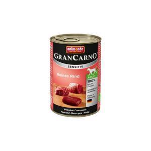 Animonda GranCarno Sensitiv консервы для собак с чувствительным пищеварением говядина 400 г х 6 шт