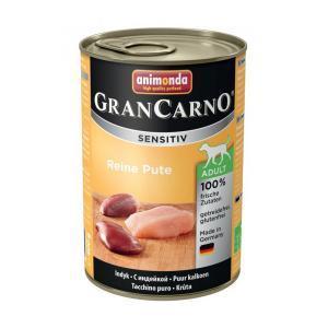 Animonda GranCarno Sensitiv консервы для собак с чувствительным пищеварением индейка 400 г х 6 шт