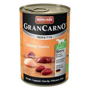 Animonda GranCarno Sensitiv консервы для собак с чувствительным пищеварением курица 400 г х 6 шт