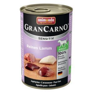 Animonda GranCarno Sensitiv консервы для собак с чувствительным пищеварением ягненок 400 г х 6 шт