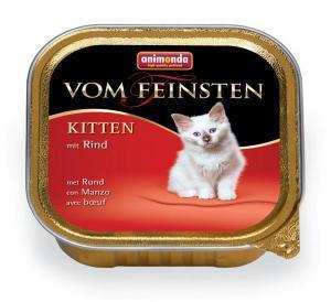 Animonda Kitten консервы с Говядиной для котят / 100г*32шт