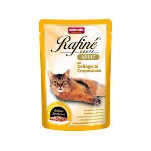 Animonda Rafine Soupe Adult консервы для кошек из домашней птицы в сливочном соусе 100 г х 24 шт